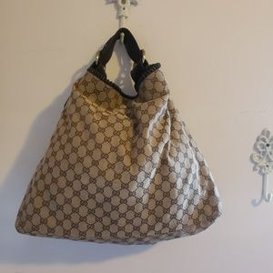 AUTHENTIC Gucci GG Hobo Bag